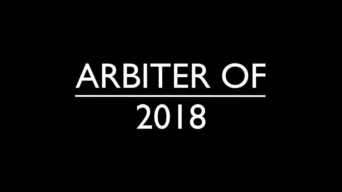 ARBITER OF 2018 // TOP 100